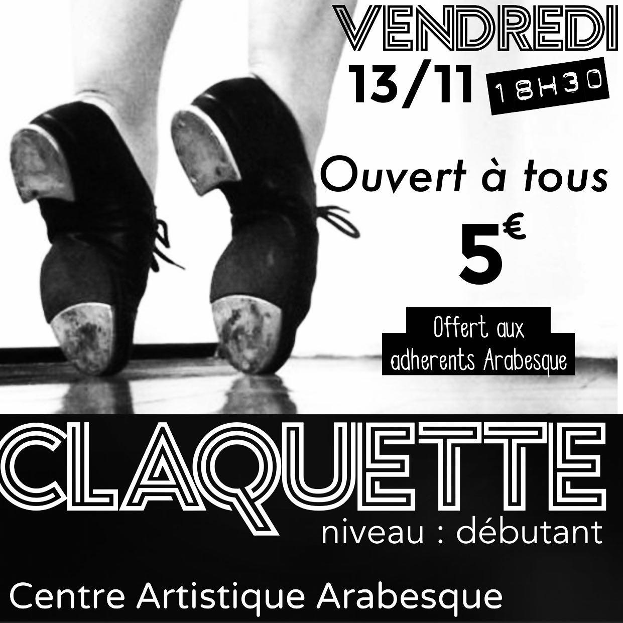 centre artistique arabesque ecole danse etampes stage gratuit claquette en visio