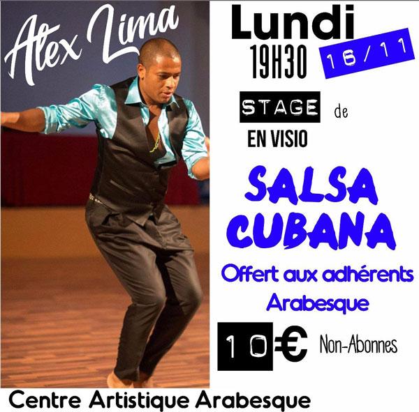 stage salsa cubana arabesque live